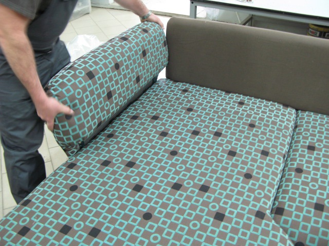 Разборка дивана