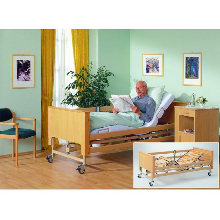 Четырехсекционная кровать