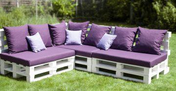 садовая мебель из поддонов