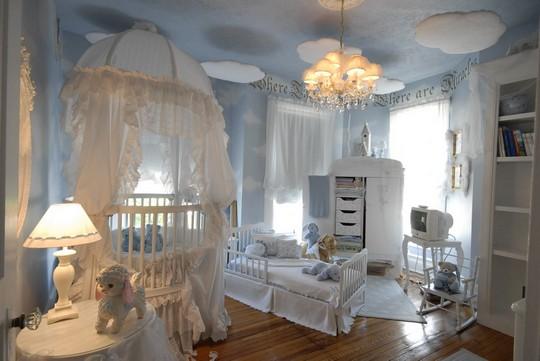 Красивые балдахины на детскую кроватку фото