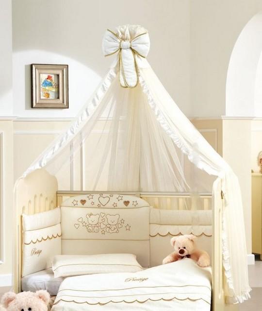 Крепление балдахина на кроватку