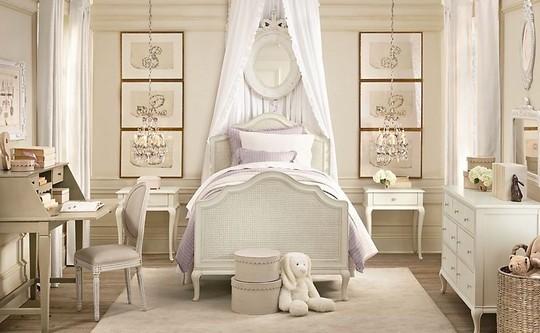 Детская кровать с балдахином фото