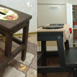 Декорирование стула-трансформера для детской