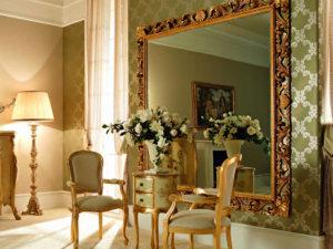 Домашний декор: как повесить зеркало на стену