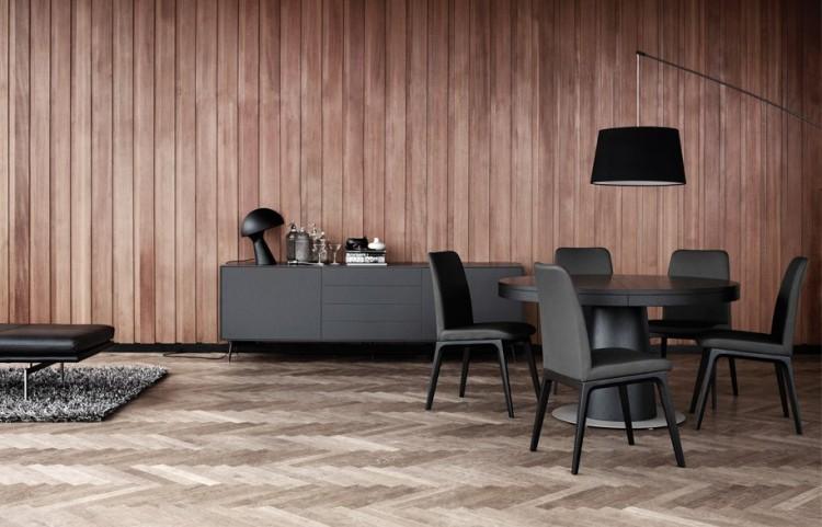 гостиная с серой мебелью