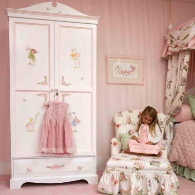 прованс в комнате для девочки