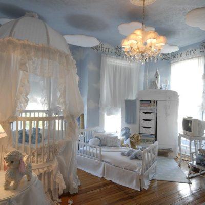 Комната для малыша в стиле прованс