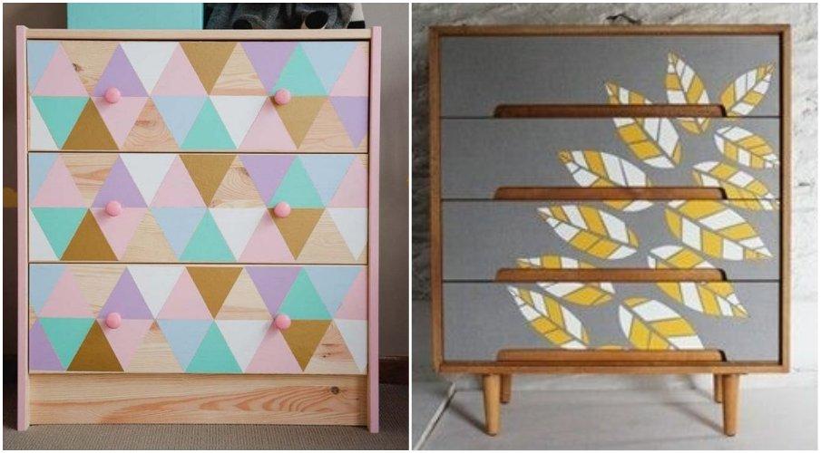 Декоративные виниловые наклейки это оригинальная идея для улучшение облика вашей мебели