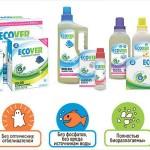Особенности бытовой химии Ecover