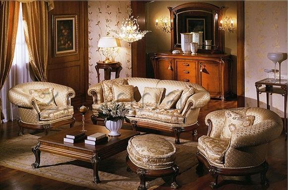 Фото: мебель из натурального дерева подчеркнет стиль вашей гостиной