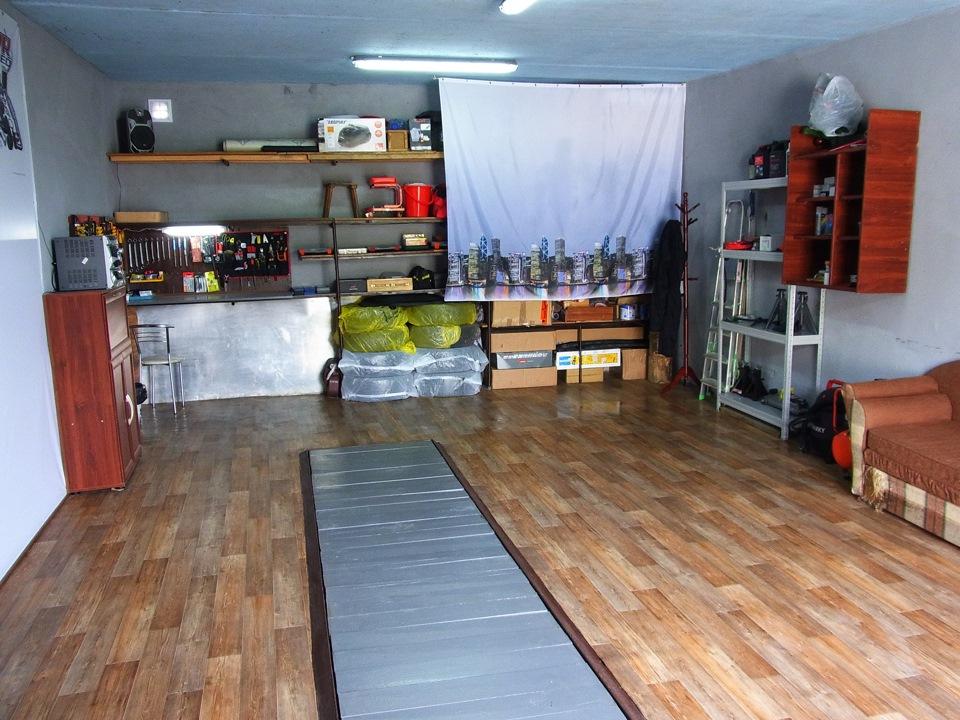 как сделать жилой гараж