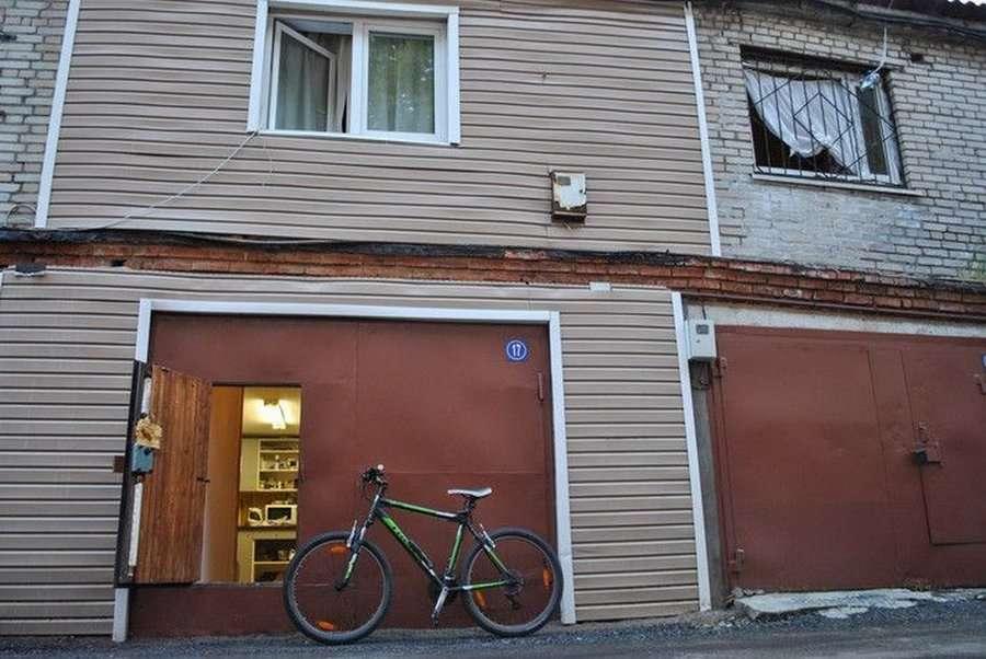 Фото гаража квартиры