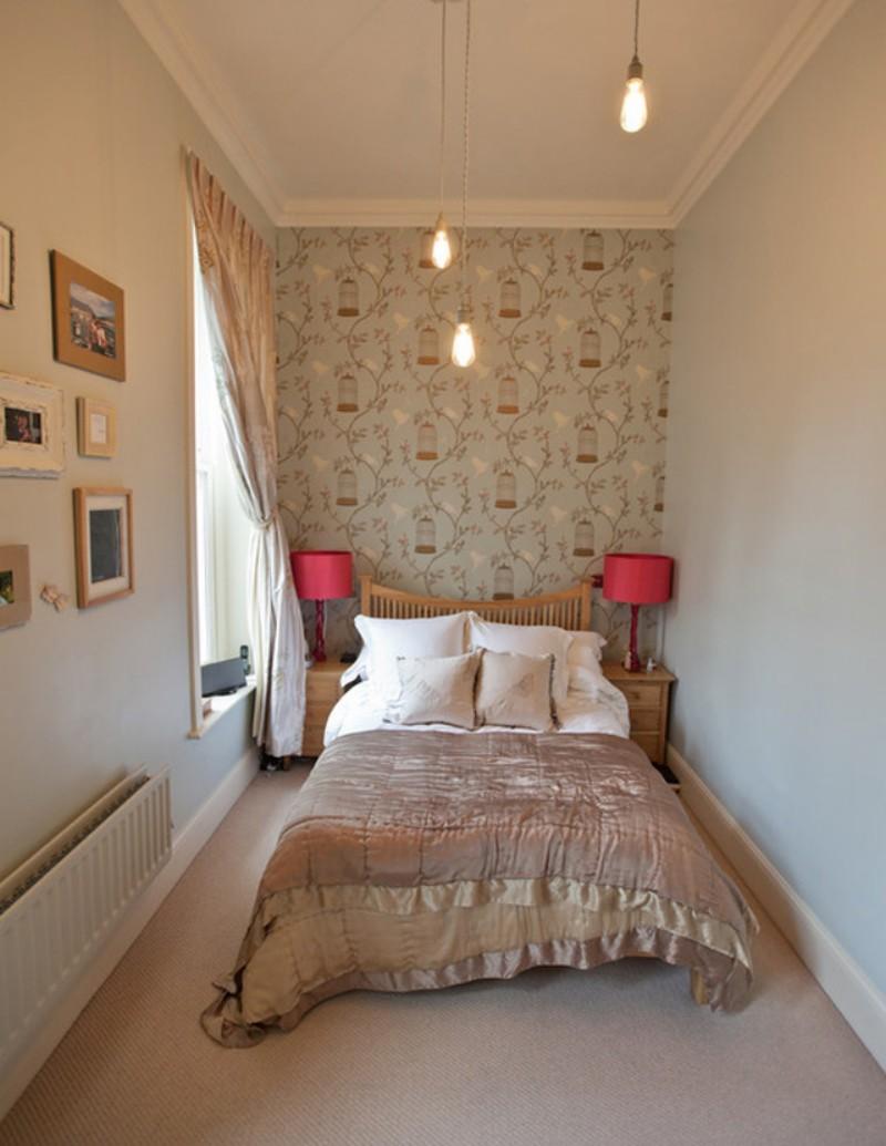 Дизайн узкой спальни – преобразовываем пространство