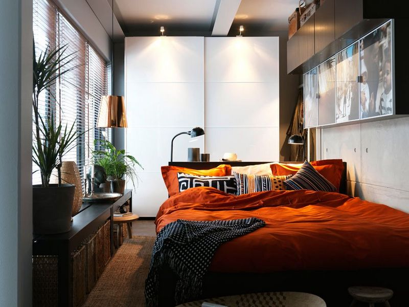 Идеи дизайна спальни 12 кв.м.