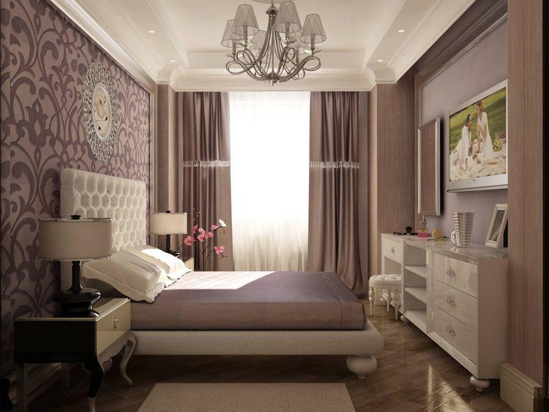 Дизайн спальни 8 кв м в современном стиле фото
