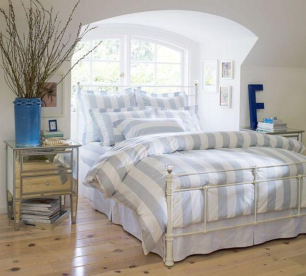 Дизайн узкой спальни фото