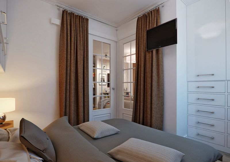Маленькая спальня - фото идей оформления дизайна
