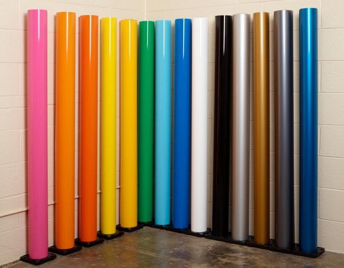 Пленка для работы разных цветов