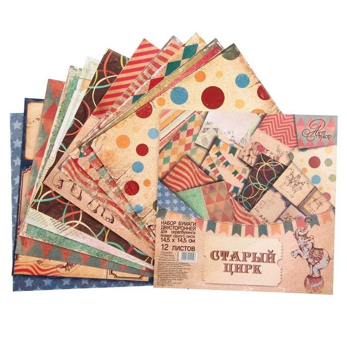 Разноцветные листы с картинками