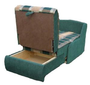 кресло кровать без подлокотников открытое