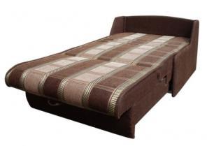 кресло кровать без подлокотников разложенное
