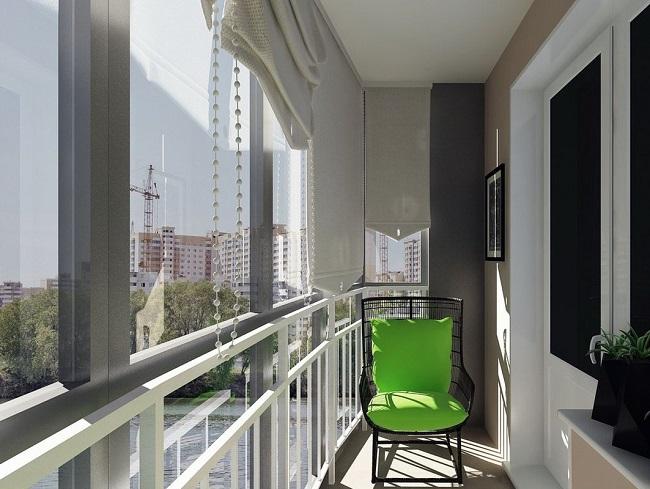 кресло на узкий балкон