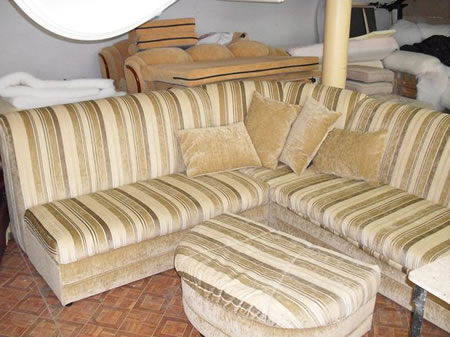 перетяжка кругового дивана собственноручно