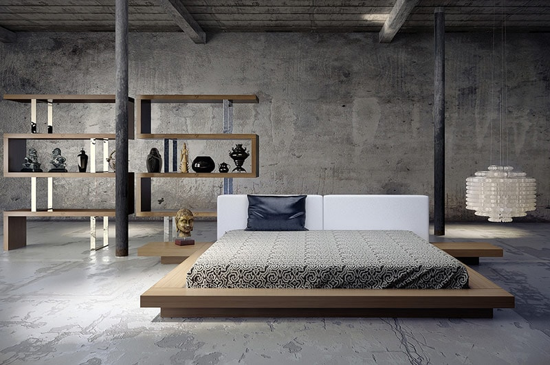 необычная кровать в современном стиле своими руками