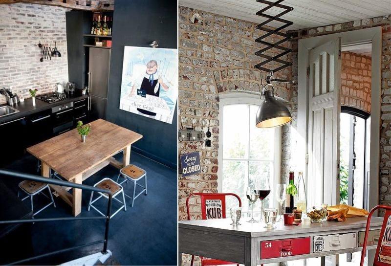 стильный дизайн в интерьере кухни