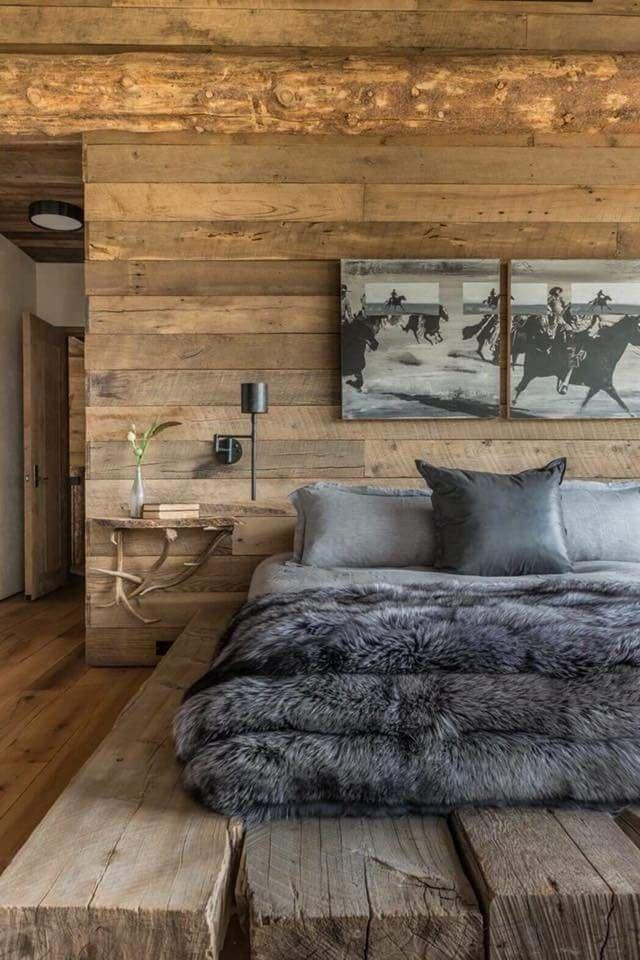 грубый минимализм в дизайне спальни