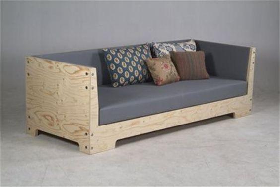 простой стильный диван своими руками