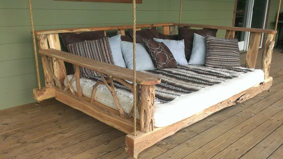 подвесной диван - отличное место для отдыха