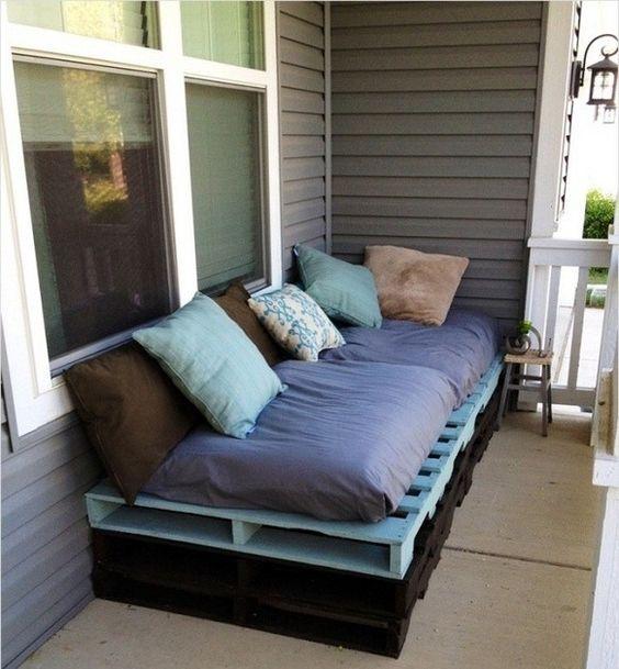 практичный диван на веранду своими руками