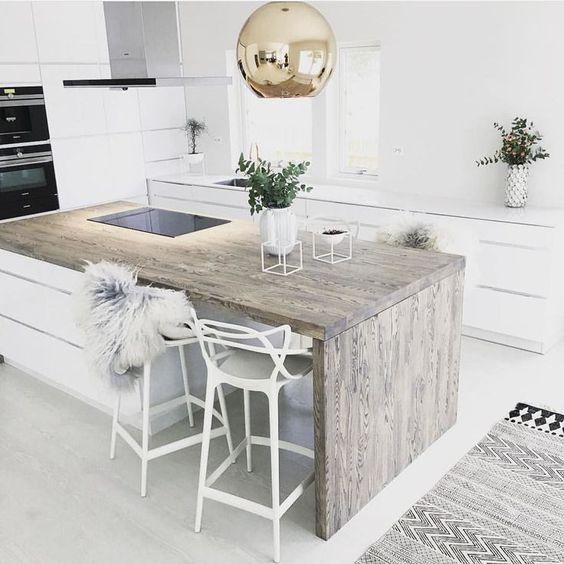 дизайнерская кухня в пастельных тонах