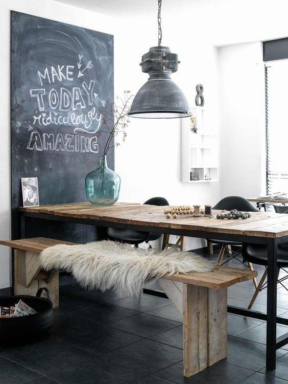 индустриальный стиль в дизайне квартиры