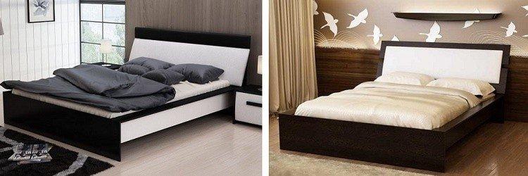 дизайн двуспальной кровати своими руками
