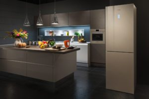 зона готовки в кухне