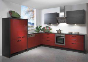 фото большого кухонного гарнитура