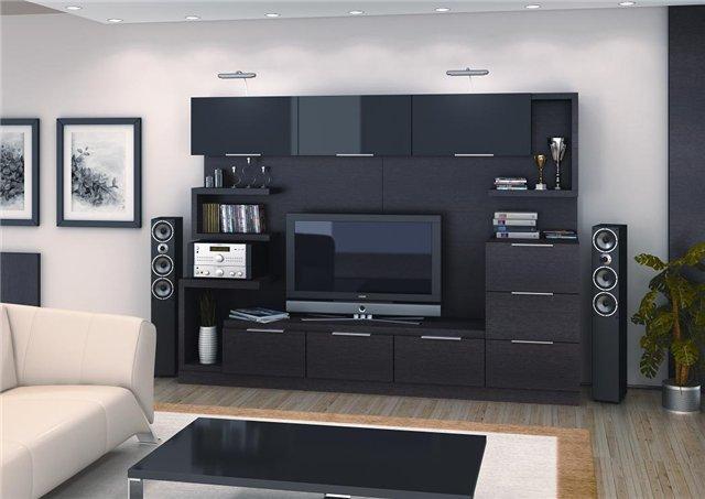Телевизор и шкаф под него