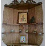 Угловые полки на стену в ванную комнату, на кухню, полки для книг и икон
