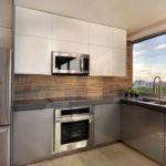 угловая кухня 9м2