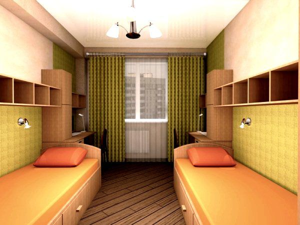 детская комната для двоих фото