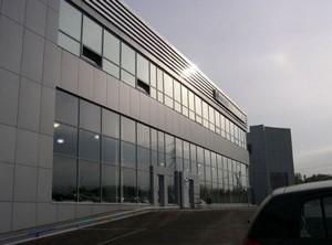 Фасад из алюминия