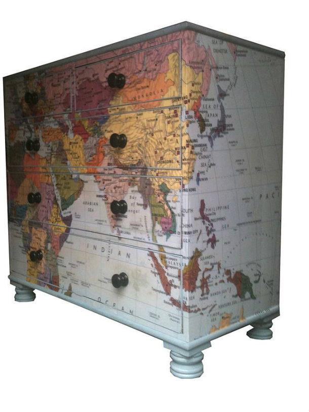 карта комод