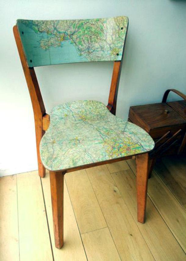 карта стул