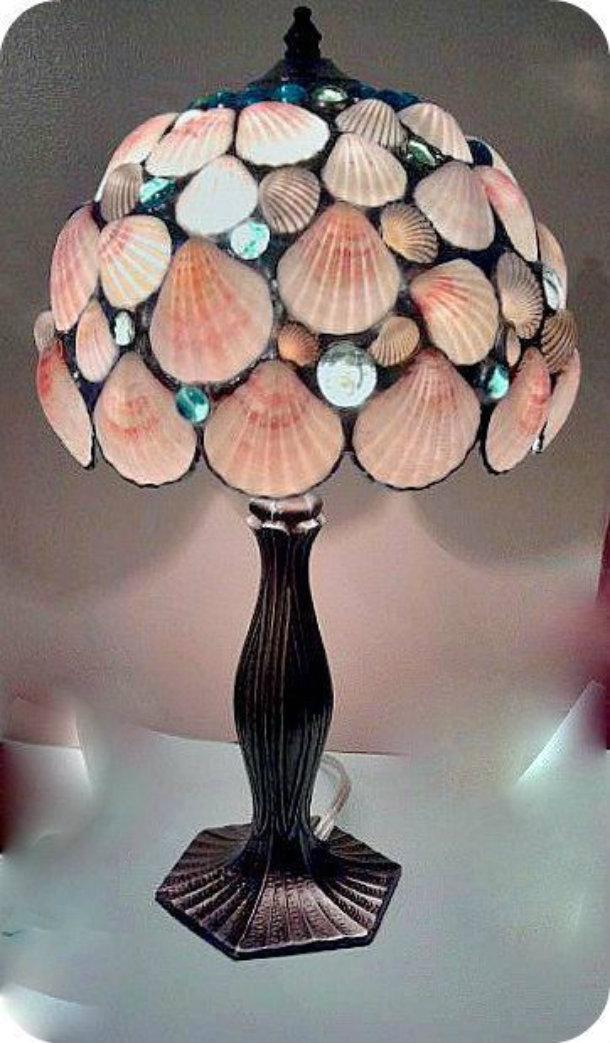 ракушка лампа