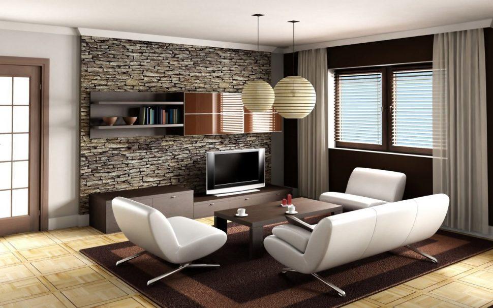 Современный дизайн гостиной - рекомендации, советы, идеи и фото