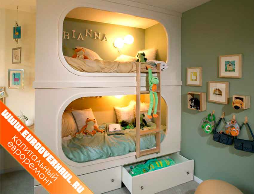 Детская кровать – купе.