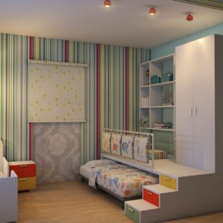 Дизайн детской спальни — лучшие идеи оформления интерьера детской (110 фото)