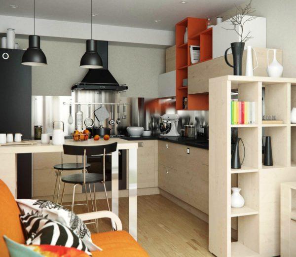 Хорошая вытяжка - один из главных составляющих элементов кухни без окна